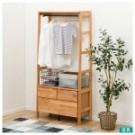 為寢室帶來開放感,ALNUS開放式收納衣櫥。 開放空間收納、抽屜收納,同時備有衣
