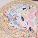 嬰幼兒純棉口水巾寶寶針織棉小毛巾手帕印花小方巾