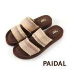 美型拖鞋彈力鞋床舒適減壓 橡膠鞋底,走路不怕濕滑