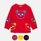 普普熊棉質萊卡T恤 / 普普熊 / 8M2A05