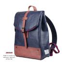 雙色層次搭配,特別貼心的收納規劃,增加其實用度,不論上班上學通勤,可滿足多種需求的簡單生活背包 !