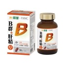 御護xHAC-德萊比B群+肝精複方錠(90錠/罐)【杏一】