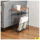 極簡風格的邊桌,桌板下方有兩層架可以收納小物。 ※請勿將邊桌作為踏台使用。 ※若