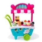 ◆可愛精緻冰淇淋車,讓孩子更融入模擬情境 ◆內含20種以上音效及十幾種配件