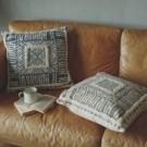 - 純手工織造 - 天然純棉原料 - 來自印度