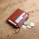 多功能卡片零錢包, 除了可以收納卡片&零錢, 還可以扣上鑰匙唷。