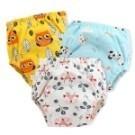 學習褲 6層紗嬰兒尿布褲 吸水隔尿褲訓練褲