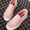 休閒鞋-真皮厚底純色休閒懶人鞋【XDO660237】XSU6602  舒適真皮質感 簡約率性休閒感