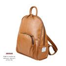 簡單生活背包,典雅的造型設計,採用質感PVC皮革,包體輕巧 可伴隨您工作 上學 通勤的隨身小背包。