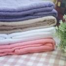 台灣製造 100%純棉織造 SPA美容床毛巾被