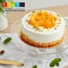 ● 口感綿密的戚風蛋糕體 ● 搭配入口即化的芒果果泥內陷 ● 佐清甜無負擔的新鮮水蜜桃果肉