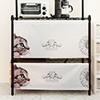 ◆ 尼龍輕透材質 ◆ 可運用各式百變層架  ◆ 輕鬆防塵、遮擋雜物