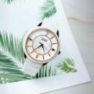 原廠公司貨  時尚花漾錶盤設計  藍寶石水晶鏡面