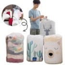 棉被收納袋防水束口袋防潮大號衣服整理袋行李防塵袋打包袋