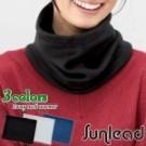 兩用式防寒軟帽/脖圍 可任意變換為軟帽、脖圍 男女適用