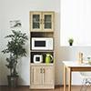 收納櫃 廚房收納 ★直立收納 節省空間 ★透氣防潮設計  ★內層板高低可調整