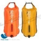 海泳、三鐵專用28L雙氣囊浮球,提供緊急浮力、救生需要,兼具防水收納的功用,耐用PVC,顏色鮮明安全