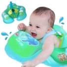 嬰兒游泳圈兒童充氣防側翻游泳趴圈坐圈