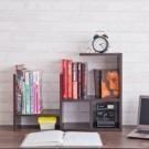 ●伸縮功能,依需求可拉寬縮小 ●依照喜好自由擺放 ●輕巧穩固,輕鬆收納書籍與各類小物