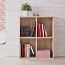 ●四大格收納設計 ●搭配同系列商品可堆疊使用 ●開放空間取物好便利