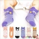 襪子寶寶嬰兒襪短襪立體卡通動物地板襪