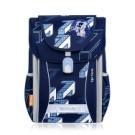 TigerFamily學院風超輕量護脊書包-意象藍