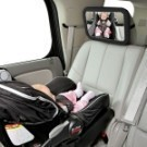 寶寶安全座椅觀察鏡 汽車嬰兒後視輔助鏡