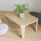 ★摺疊後體積小!  ★造型設計桌角,防止撞擊割傷 ★和風木紋桌面 日系質感再升級