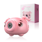 泡泡相機電動燈光音樂兒童吹泡泡玩具