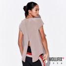 美背透網設計,增添穿著的透氣度 開岔設計視覺修飾身形線條 時尚百搭,適合運動及日常穿搭