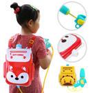 寶寶戲水玩具 兒童高壓噴水抽拉式背包水槍戶外玩具