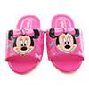 台灣製造優質舒適兒童室內拖鞋,好穿又好看 迪士尼米妮流行動畫授權圖案設計漂亮可愛,小朋友最開心
