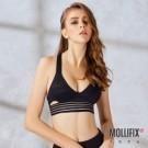 科技一體成型無縫罩杯  集中穩定胸型 中強度運動適用