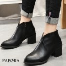 ★此款版型偏小一碼 ★絕對驚豔粗跟短靴