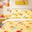 迪士尼 卡通 磨毛 小熊維尼 床單 枕套 跳跳虎 Disney