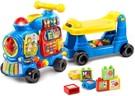 ◆ 4合1智慧積木車來囉!嘟嘟嘟~一台陪孩子一起成長的小火車~