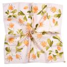 ●繽紛花卉浪漫風情 ●觸感柔細 吸汗性優異 ●100%純綿材質