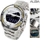 公司貨 保固一年 日期顯示 EL面板 按動式摺疊扣 防水手錶 雙顯示 電子錶 夜光 軍錶 復古