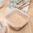 ‧食物分類儲存超便利。 ‧壓扣蓋設計,防漏密封。 ‧容易清洗,不殘留異味。