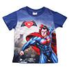 蝙蝠俠對超人正義曙光電影授權設計兒童短袖圖T 超級酷炫耀眼設計,材質涼爽吸汗且舒適不拘束