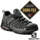 GORE-TEX防水透氣材質 輕量、透氣、保護、穩定 不易沾黏土石鞋底設計 法國戶外休閒第一品牌