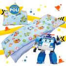 卡通 磨毛 警車波力 救援小英雄 機器人 Poli 歡樂世界 鋪棉 含內胎 枕心 幼稚園