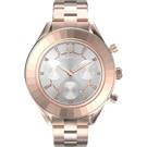 原廠公司貨/5612194 具日期顯示、計時碼表 Swarovski水晶切割錶圈 不鏽鋼錶殼、錶帶