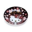 迷你圓盤大小 淺盤身設計 精緻櫻花圖紋花樣 可當小菜碟/醬料碟 ※不可使用於微波爐※