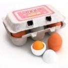 仿真雞蛋盒模型 家家酒玩耍小物 整人道具之一