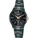 原廠公司貨 簡約大三針,日期顯示 耐磨藍寶石水晶鏡面 不鏽鋼錶殼、錶帶 VJ22-X358SD