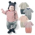 超可愛的寶寶連身衣,側邊開釦不怕著涼 網眼緹花純棉材質舒適又透氣