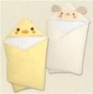 高品質保暖厚款棉質包巾 80*80cm 無甲醛 無螢光劑 最適合寶寶的肌膚  包巾 / 多功能小被~