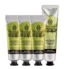 大麻籽修護磨砂霜-75ML 大麻籽密集修護護手霜-30ML 數量有限,售完為止。