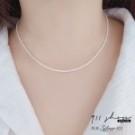 925純銀/短項鍊鎖骨鏈